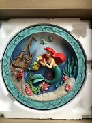 Disney's Animated Classics The Little Mermaid Collectors Plate 1989