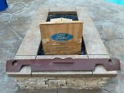 1969 1970 Mustang Mach 1 Rear Valance Panel Red Oxide - Nos - Rare - Mint