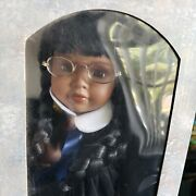 Traditions Porcelain Doll Collection- Graduation Girl African American 16340g