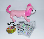 Zoomer Playful Pup Interactive Robotic Dog Pink New Loose Read Description