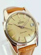 1962 Vintage Omega Seamaster Rose Gold Automatic Ref.14701 Gents Watch
