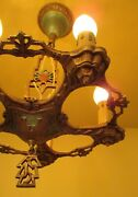 Vintage Lighting 1930s Chandelier By Lasalle More Available