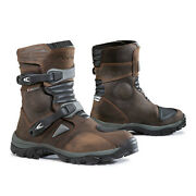 Motorcycle Boots | Forma Adventure Low Unboxed Riding Adv Waterproof Brown Black