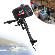 2 Stroke 3.5hp Outboard Engine Motor Marine Engine Water Cooling + Cdi Ignition