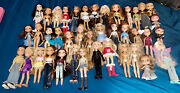 Huge Vintage Rare Bratz Doll Lot With Shoes And Extras 40 Dolls Rock Angelz