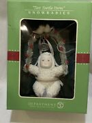 Snowbabies Two Turtle Doves 12 Days Of Christmas Ornament. Nib
