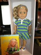 American Girl Lanie Doll Of The Year 2010 With Book Brand New Retired