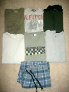 Guc Lot Of 7 Mens Size L Tees Thermals Tops Pajama Bottoms Rei Eddie Bauer 1031