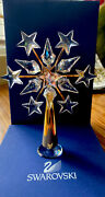 Clear Crystal Gold Christmas Tree Topper And Stand 632785 2005 Authentic