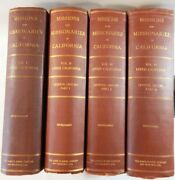 Fr Zephyrin Engelhardt / Missions And Missionaries Of California Vol I Lower 1st