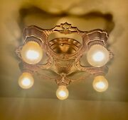Vintage Lighting 1930s Lasalle. Surface Mounted. More Available