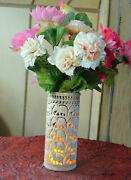 8 Marble Soapstone Flower Vase Light Beautiful Collectible Home Decor Art Gifts