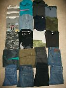 Guc Lot Of 20 Boys Size 10 12 Fall Winter Name Brand Old Navy Under Armour 1051