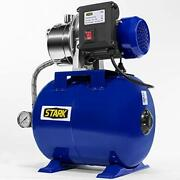 Xtremepowerus 1.0hp Shallow Well Pump Tank Booster System Pressurized Farm Irrig
