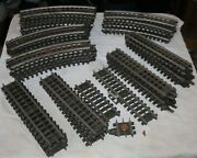 1950's Lionel Super O Train Track Straight Curved + More Lot Of 43