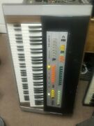 Vintage Farfisa Compact Professional Duo Organ Keyboard W/ Footswitch