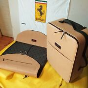 Bagage Valise Set Luggage Leather Ferrari Tailor Made Collection 70th Exclusif