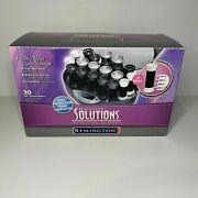 Remington Solutions Ionic Velvet Hot Rollers Curlers Kf-20i Hairsetter Wax Core