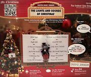 New Hello Mr. Christmas Maestro Mouse Presents The Lights And Sounds Christmas