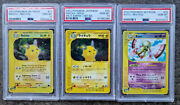 Pokemon Graded Cards Lot 6 Cards All Skyridge Psa 10and039s Japanese And English