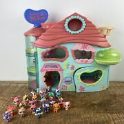 Lps Littlest Pet Shop Biggest Playset House With 23 Pets Great Condition