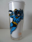 1978 Pepsi Super Heroes Collector Series Glasses, Complete Set Of 7
