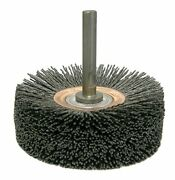 Weiler 86154 Bore-rx Brush Deburring Tool 4 Id 0.26/120cg Crimped Fill 3/8 ...