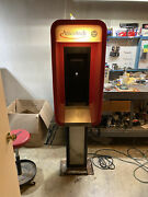 Vintage Ameritech/bell System Plastic Pull Up Pay Phone Booth