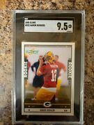 Aaron Rodgers 2005 Score Rookie Card Rc 352 Sgc 9.5 Green Bay Packers