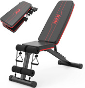 Hitosport Weight Bench, Adjustable Weight Bench, Strength Training Benches For And