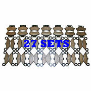 27 Sets 1990 1991 1992 1993 Polaris 250 Trail Blazer Front And Rear Brakes Pads