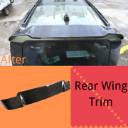 For Land Rover Defender 90 110 20-21 Roof Tail Wing Decor Trim Real Carbon Fiber