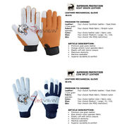 200 Piece Safety Work Gloves, Goatskin Andcowhide Leather Hunting Glove Gardening
