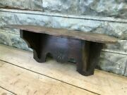 Clock Display Shelf For Fire Place Mantel, Wooden Mantel, Wall Mount Vintage A,
