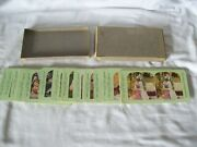 24 Antique Colorized Stereoscope Stereograph Cards Atlas View Company Daily Life