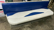 2001 Crownline 180 Br Boat Deck Rear Bench Seat With Storage Compartment