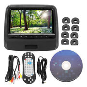 Replacement 9 Inch Car Back Headrest Monitor Screen Dvd Video Hd Media Player