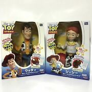 Toy Story My Talking Action Figure Woody Jesse Real Size Movie Voice Japanese