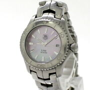 Tag Heuer Link Women's Watches Quartz Ss Twill Shell Dial Pink Wj1315