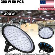 50 Pcs 300w Led High Bay Light Ufo Outdoor Commercial Warehouse Disc Light