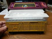 Mth 20-94502 Up Union Pacific Steel Sided Stock Car Used W/box O Scale Lqqk