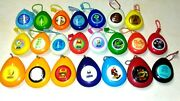 1985 Super Mario Bros Key Chain Fob Noise Sound Effect Lot Of 22 Different Rare
