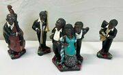 Vintage Parastone Enesco All That Jazz African American Band Figurines Figures