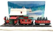 Hallmark 2003 Lionel Holiday Special Set Of 3 Ornaments With Display Scene New