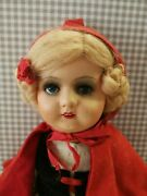 Old Red Riding Hood Doll