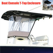 Boat Console T-top Enclosure Windshield Spray Shield For Consoles Up To 700mm