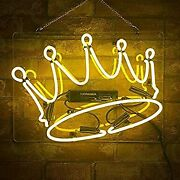 Ceosei Neon Signs Open Gules Real Glass Tube Lights Sign For Home Bar Wall Light
