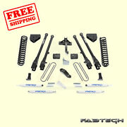 6 4 Link System W/ Shocks For Ford F250 4wd 2008-16 Fabtech