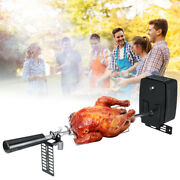 Barbecue Rack Electric Charcoal Outdoor Skewers Tool Rotisserie Set With Motor