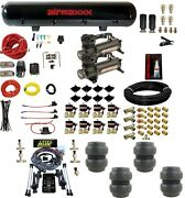 Level Ride Air Suspension Height And Pressure 480 Compressors Brass Valves And Ss6